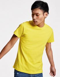 Damen Shirt V-Ausschnitt Glockenförmig Gr 44 bis 52 Curves Slub T-Shirt Lady